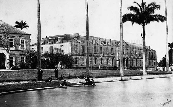 Codrington College, Barbados, c1880