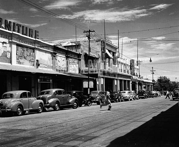 King Street, Kingston, Jamaica, 1950
