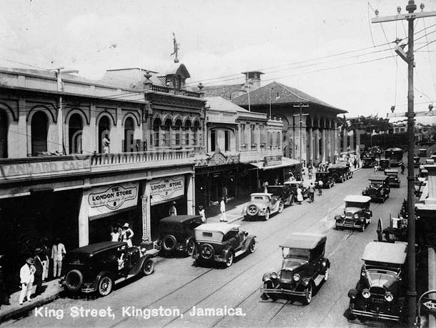 King Street, Kingston, Jamaica, 1925