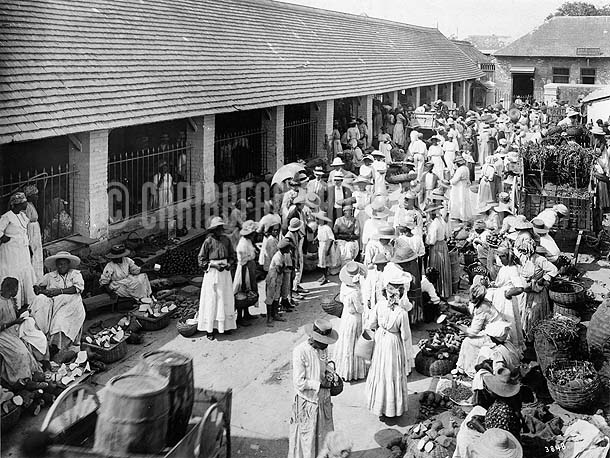 Jubilee Market, Kingston, Jamaica