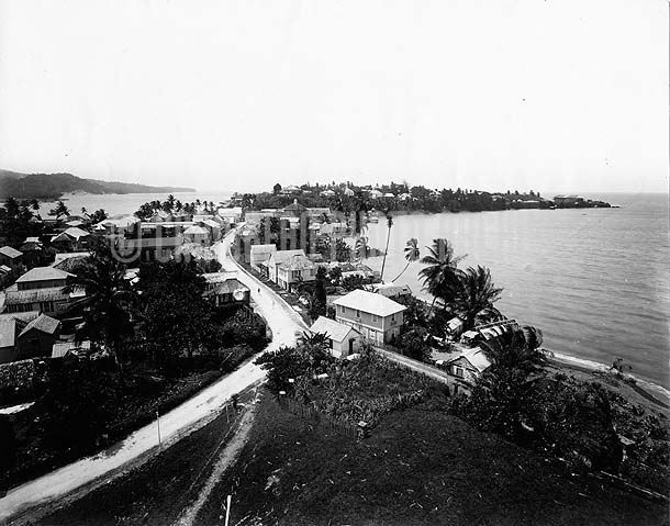 Port Antonio, Jamaica, ca1900. Photo by A. Duperly & Son.