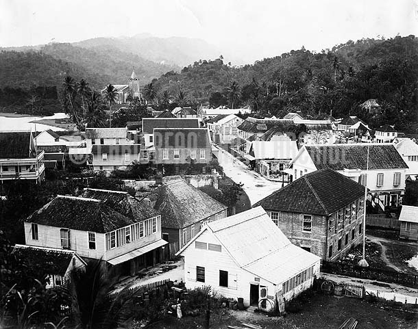 Port Antonio, Jamaica, 1890. Photo by J.W. Clear