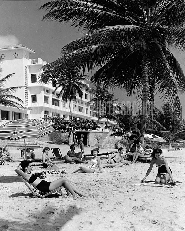 Tower Isle Hotel, St Mary, Jamaica, 1950